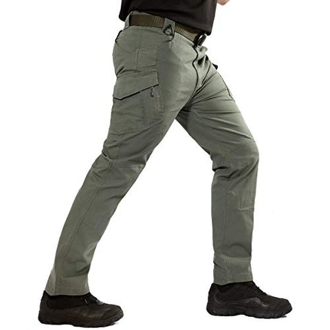 Men's Pants Lightweight Cotton Outdoor Military Combat Cargo Trousers