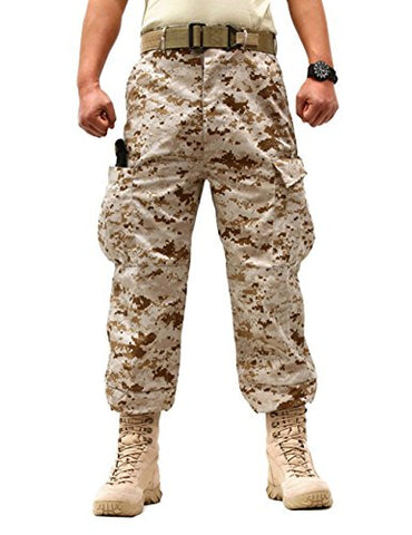 Men's Military Tactical Casual Camouflage Multi-Pocket
