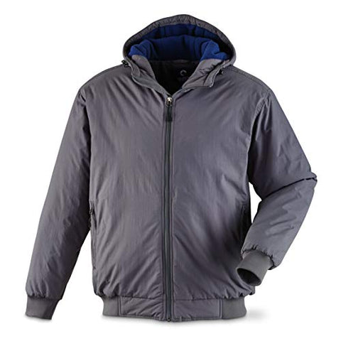 Men's Hooded Cascade Jacket Fleece-Lined