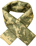 Tactical Military camouflage Scarf Cool Airsoft Tactical Multifunctional  Army Mesh Breathable Scarf Wrap Mask