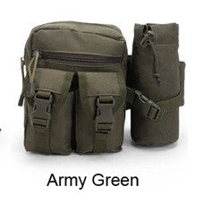 Durable Tactical Pouch Waist Pack Bag Fanny Pack Phone Pocket Water Bottle Holder Pouch