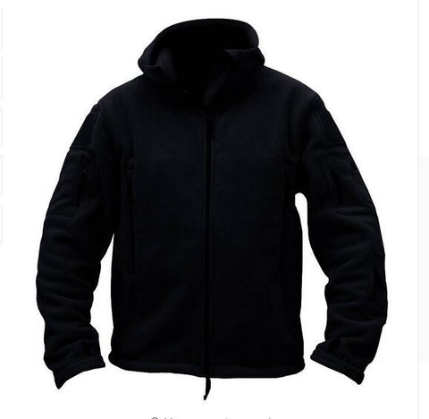 Outdoor Military Tactical Soft Shell Fleece Hoody Jacket!