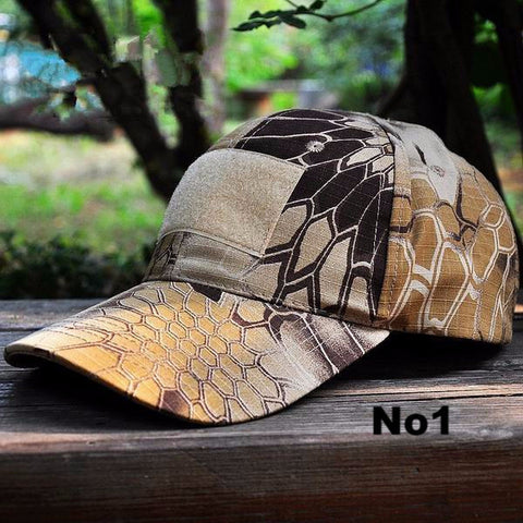 Camouflage Tactical Hat Army Tactical Baseball Cap