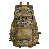 Tactical Military MOLLE Assault Backpack Pack Large Waterproof Bag Rucksack Sport Outdoor Gear Hunting Camping Trekking Bag 55L