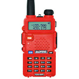 UV-5R Walkie Talkie Professional CB Radio  UV5R Transceiver 128CH 5W VHF&UHF Handheld UV 5R Radio