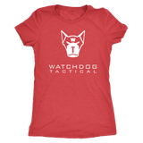 Watchdog Tactical Triblend T-Shirt (Womens)