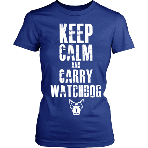 Keep Calm & Watchdog T-Shirt (Women)
