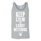 Keep Calm & Watchdog T-Shirt (Unisex)