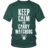 Keep Calm & Watchdog T-Shirt (Men)