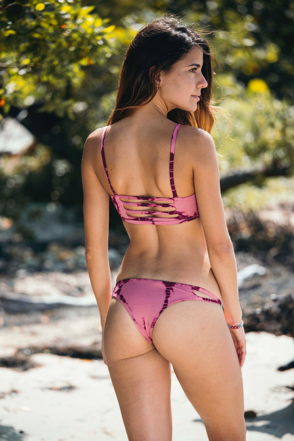 Mailbu Crush Cheeky Bottom in Rose - Boho Bum Island