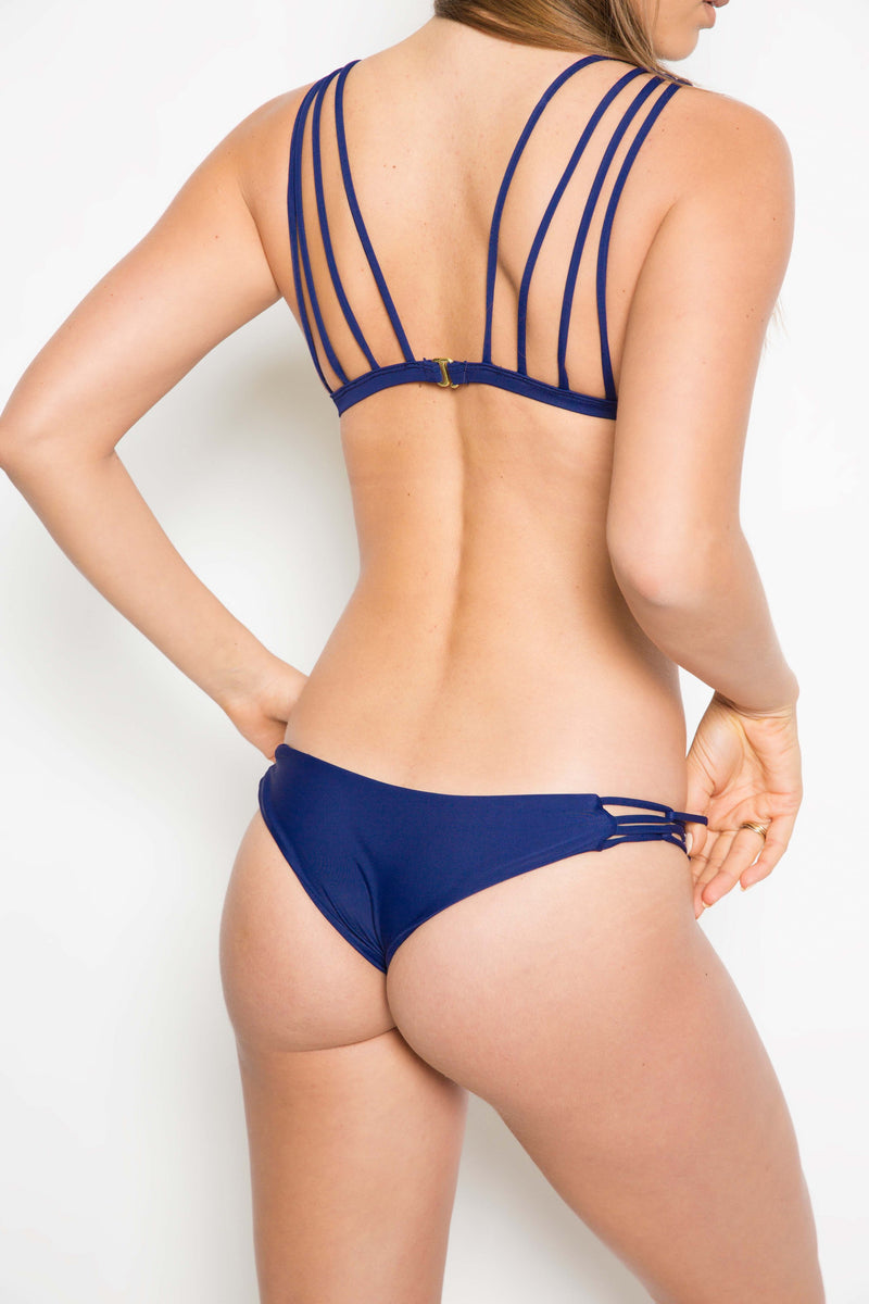 Tori Praver Chandak Bottom in Indigo - Boho Bum Island