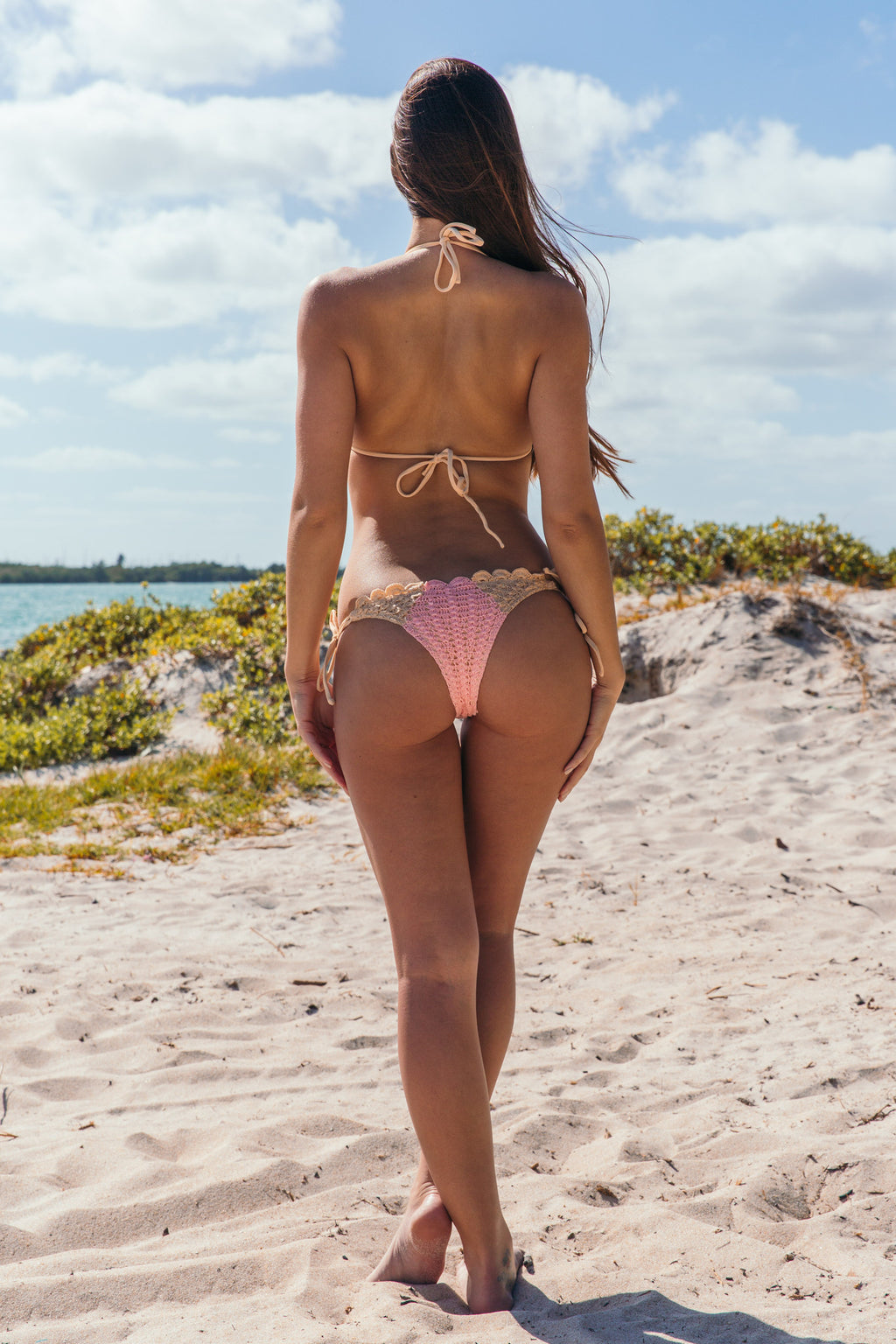My Bell Bottom in Pink Pearl - Boho Bum Island Clothing Swimwear Bohemian Boho west palm beach  Miami florida  fall fashion spring fashion online shopping ootd blogger style swim boutique