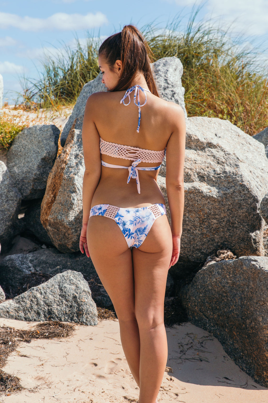 Malia Bottom in Hawaiian Blush - Boho Bum Island