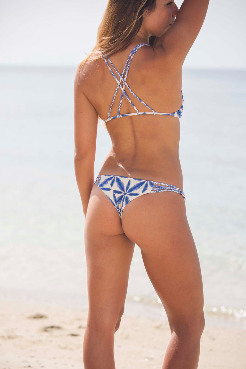 Stone Fox Swim Indie Top in Batik - Boho Bum Island