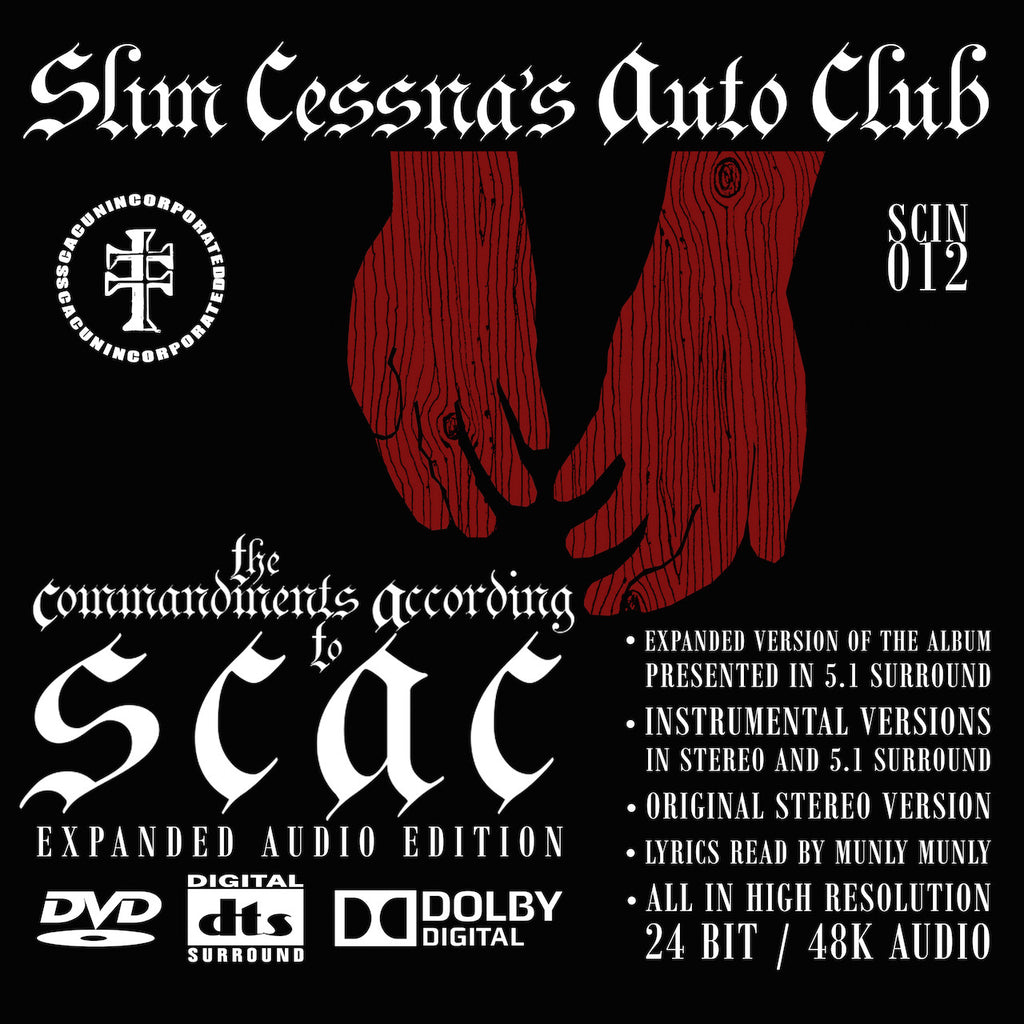 The Commandments According To SCAC: Expanded Audio Edition DVD