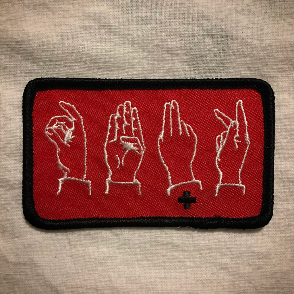 DBUK Hands Patch