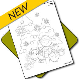Christmas Colouring Page