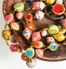 Haitian Necklace - Multi-coloured