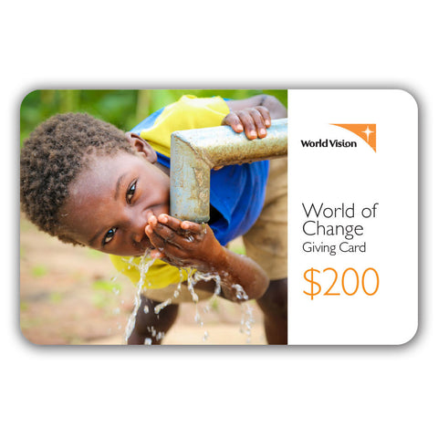 Giving Card - $200
