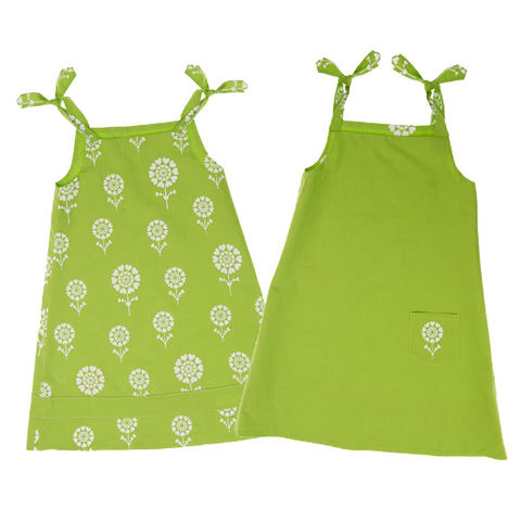 Dress - Granny Smith Green