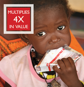 Life-saving Nutrition for a Child