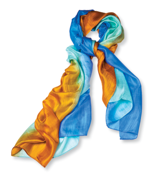 Handcrafted Silk Scarf