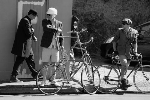 Tweed Ride Tall Bike