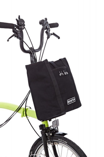 Brompton Tote Bag-Folding Accessories-Brompton-Black-Bicycle Junction