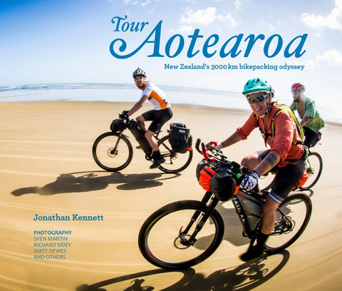 Book - Tour Aotearoa New Zealand 3000km Bikepacking Odyssey-Books & Magazines-Kennett Bros-Default-Bicycle Junction