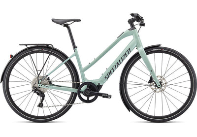 Specialized Turbo Vado SL 4.0 Low step-E-Urban-Specialized-Small-White Sage-Bicycle Junction