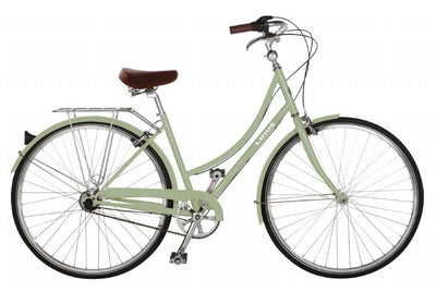 Linus Dutchi 8-Urban Bikes-Linus-Medium-Sage-Bicycle Junction