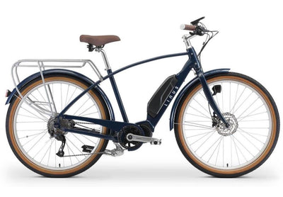 Linus Felix Electric-E-Urban-Linus-Midnight Blue-Medium-Bicycle Junction