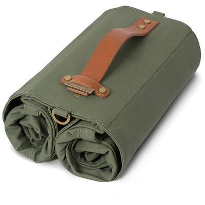 Linus - The Market Bag-Bags-Linus-Army Green-Bicycle Junction