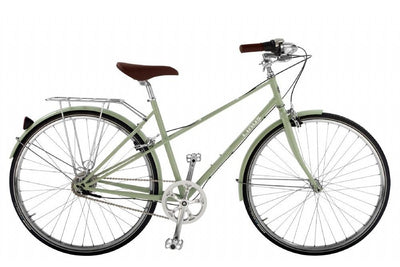 Linus Mixte 8-Urban Bikes-Linus-Medium-Sage-Bicycle Junction