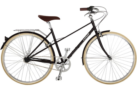 Linus Mixte 3-Bicycles-Linus-Medium-Black-Bicycle Junction