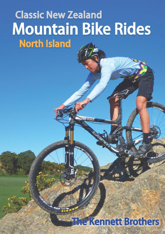 Book - Kennett Bros - Classic NZ MTB Rides (North)-Books & Magazines-Kennett Bros-Default-Bicycle Junction