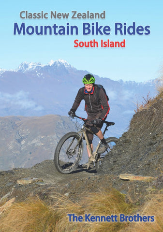 Book - Kennett Bros- Classic NZ MTB Rides (South)-Books & Magazines-Kennett Bros-Default-Bicycle Junction
