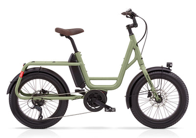 Benno RemiDemi 9D Performance-Cargo Bikes-Benno-One Size-Olive Green-Bicycle Junction