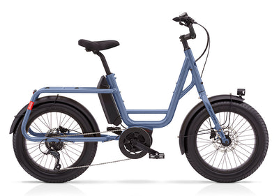 Benno RemiDemi 9D Performance-Cargo Bikes-Benno-One Size-Pigeon Blue-Bicycle Junction