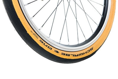 Brompton Schwalbe One Tanwall Tire-Folding Accessories-Brompton-Default-Bicycle Junction