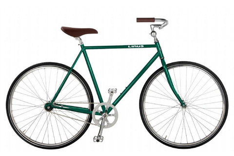 Linus Roadster Classic-Bicycles-Linus-Medium-Bottle Green-Bicycle Junction