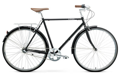 Linus Roadster Sport 3-Urban Bikes-Linus-Medium-Black-Bicycle Junction