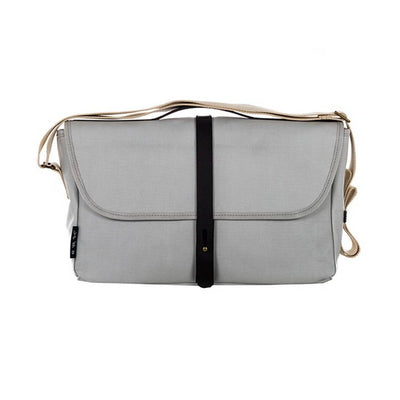 Brompton Shoulder Bag-Folding Accessories-Brompton-Grey-Bicycle Junction