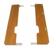 Spicy Curry Bamboo Side Boards-Yuba Accessories-Yuba-Default-Bicycle Junction