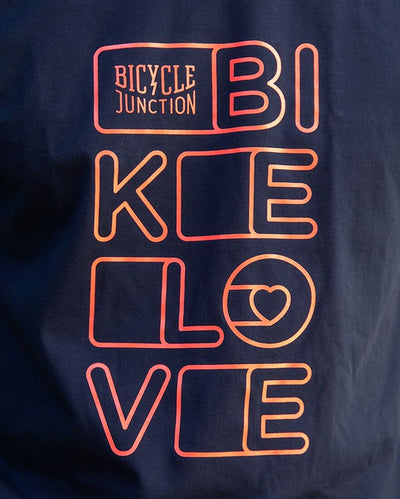 Bicycle Junction Bike Love T Shirt-Clothing-Bicycle Junction-Small-Blue-Bicycle Junction