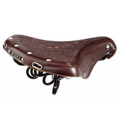 Brooks B18 Saddle-Saddles-Brooks-Brown-Bicycle Junction