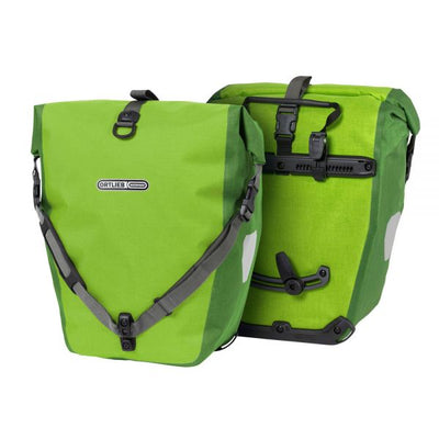 Ortlieb Back Roller Plus-Bags-Ortlieb-Lime-Moss Green-Pair-40L-Bicycle Junction