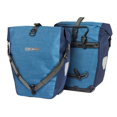 Ortlieb Back Roller Plus-Bags-Ortlieb-Denim - Steel blue-Pair-40L-Bicycle Junction