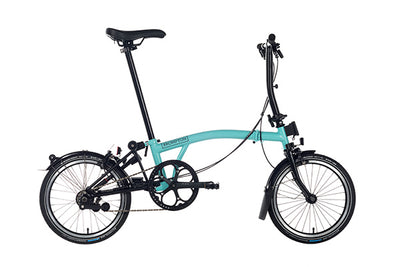Brompton S-Series Black Edition-Folding Bikes-Brompton-Bicycle Junction