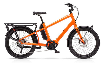 Benno Boost E 10D-E-Cargobikes-Benno-Neon Orange-One Size-Bicycle Junction